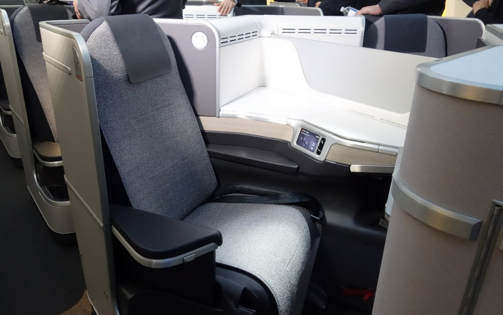 Business class on Boeing 787-8 Dreamliner