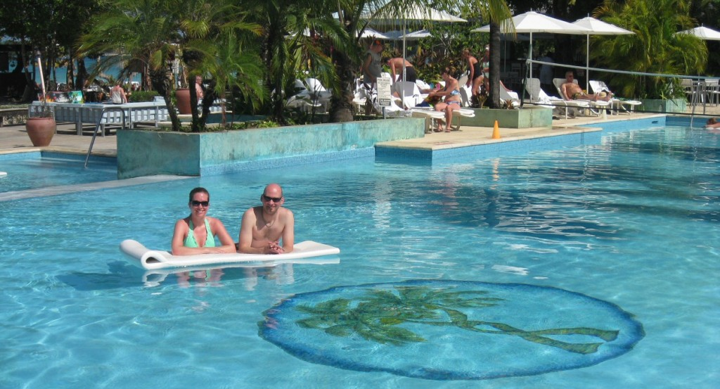 The main pool at Couples Negril