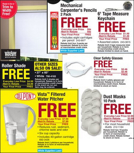 Menards Free Stuff – The Verdict | Value Tactics