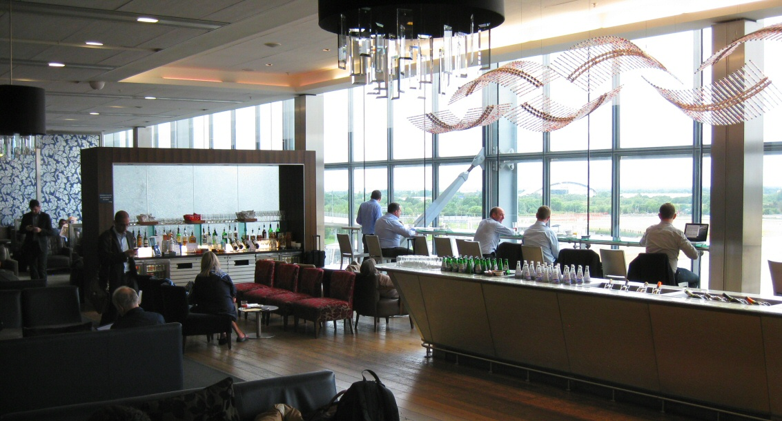 British Airways Galleries lounge at London Heathrow