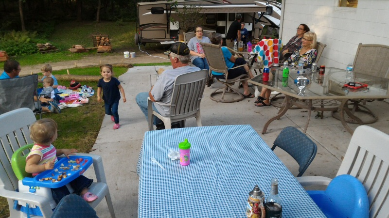 Camping with the extended family on Labor Day weekend. You can't measure the value on that!