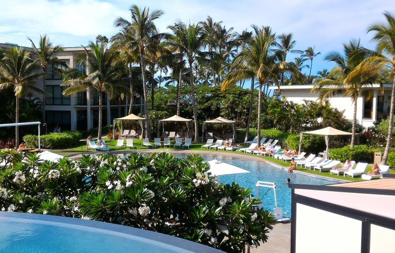 Andaz Maui zero entry pool