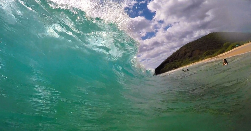 "Makena ""Big Beach"" wave"