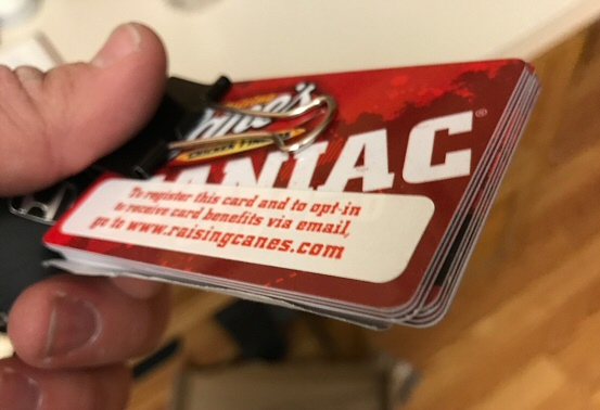Caniac Club cards
