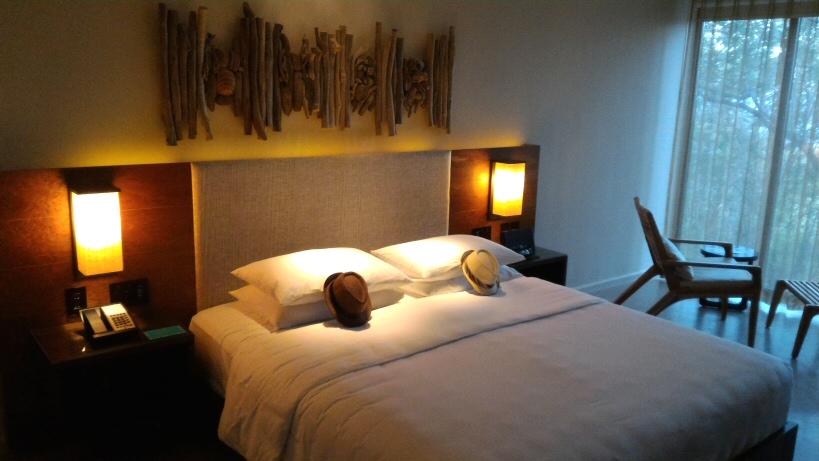 Andaz Papagayo king bed