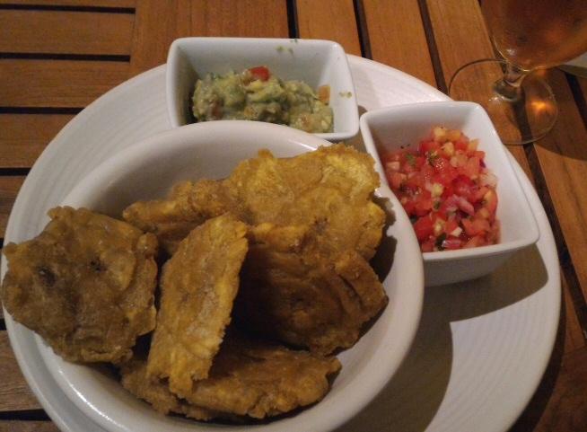 Andaz Papagayo Rio Bhongo food