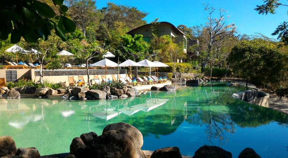 Andaz Papagayo swimming pool