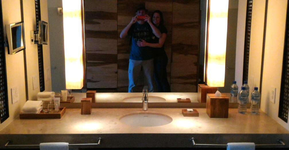 Andaz Papagayo Bathroom Vanity