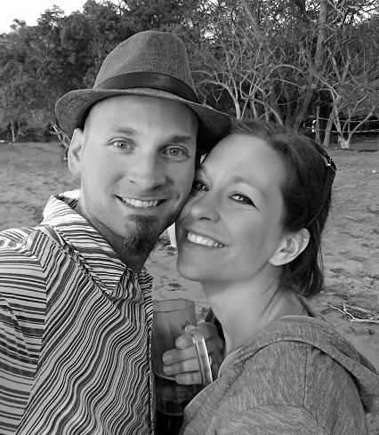 Costa Rica monochrome