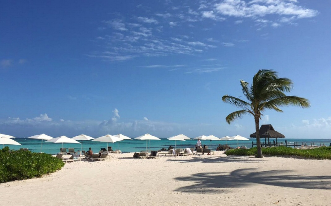 Beach view at the Westin Punta Cana - 10,000 SPG points per night