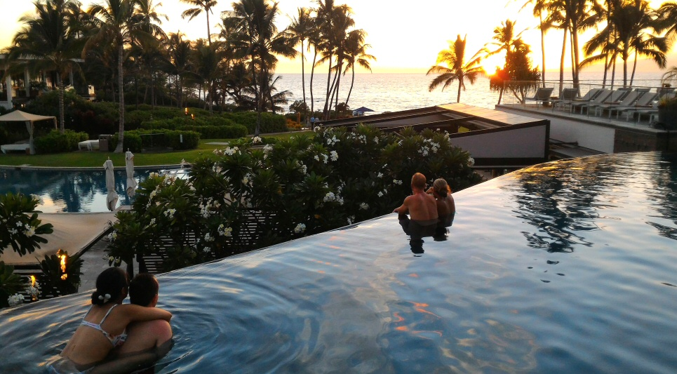 Last fall we stayed 4 free nights at the Andaz Maui at Wailea. That was two Chase Hyatt cards' worth of bonuses at that time.