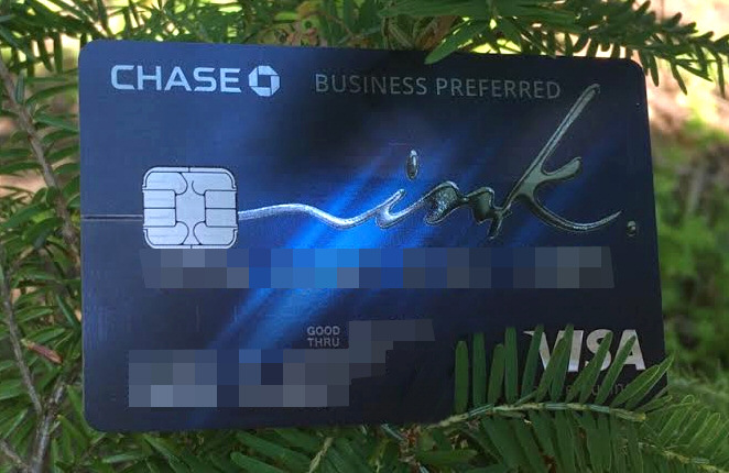 The Chase Ink Preferred - The Best Credit Card out there!