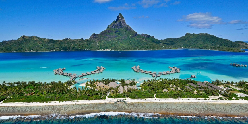 This ridiculously blown out paradise resort on Bora Bora is no longer available for IHG anniversary free night bookings. If you want some inspiration, check out the images on this resort's website: InterContinental Resort Bora Bora - Thalasso Spa