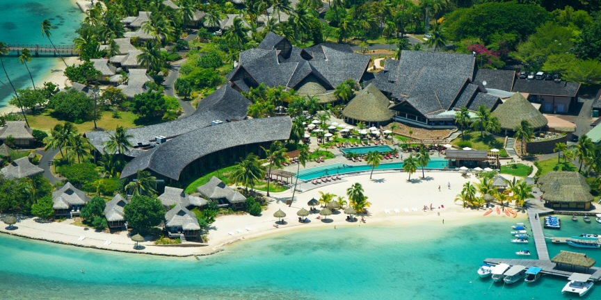 Sure, you can't stay at the Thalasso Spa on Bora Bora with free nights anymore, but the nearby island of Moorea has an IHG resort that costs 40k points and is thereby still eligible.