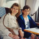 In honor of Mother's Day on Sunday, I thought I'd post this photo of my mom and me in Europe in 1996, on my first trip out of the country.  It isn't exactly an example of free travel (well, for 14 year old Ross it was!) but it definitely fueled my passion for travel.  Thanks, Mom!